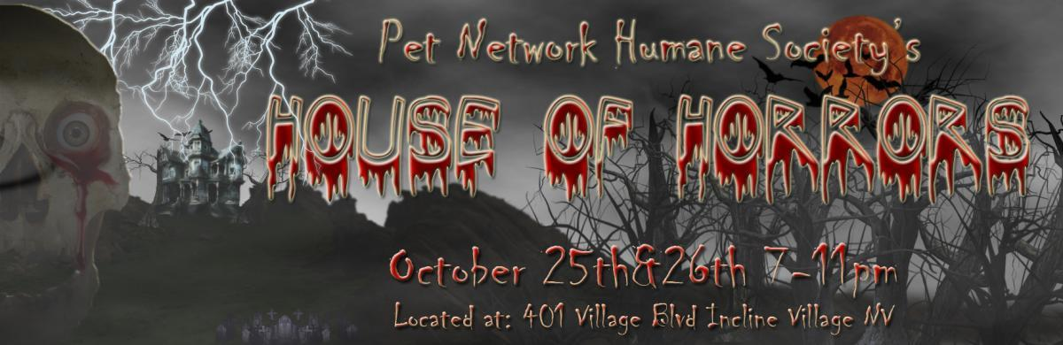 Pet Network Humane Society House of Horrors 2019